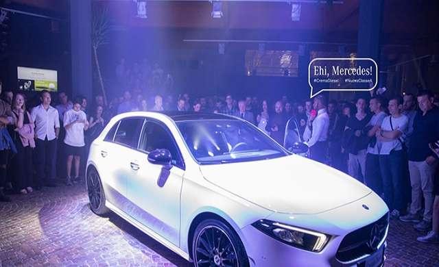 Da Crema Diesel la nuova Mercedes Classe A