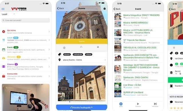La tua città su un palmo di mano con la nuova App di ViViCrema