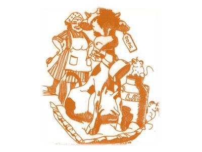 Logo La Mucca della Nonna