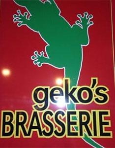 Logo Geko`s Brasserie