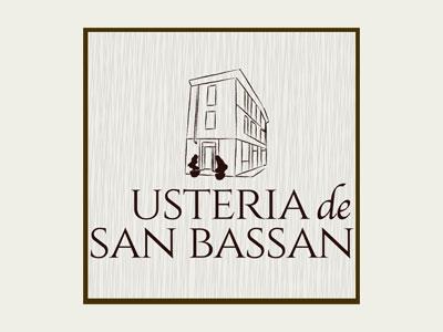 Logo Usteria de San Bassan
