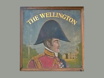 Logo Wellington Pub