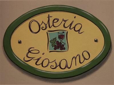 Logo Osteria Giosano