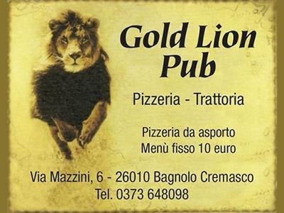 Logo Gold Lion Pub
