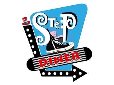 Logo Step American Diner