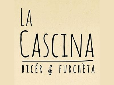 Logo La Cascina - bicér e furchèta