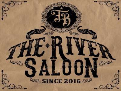 Logo The River Saloon